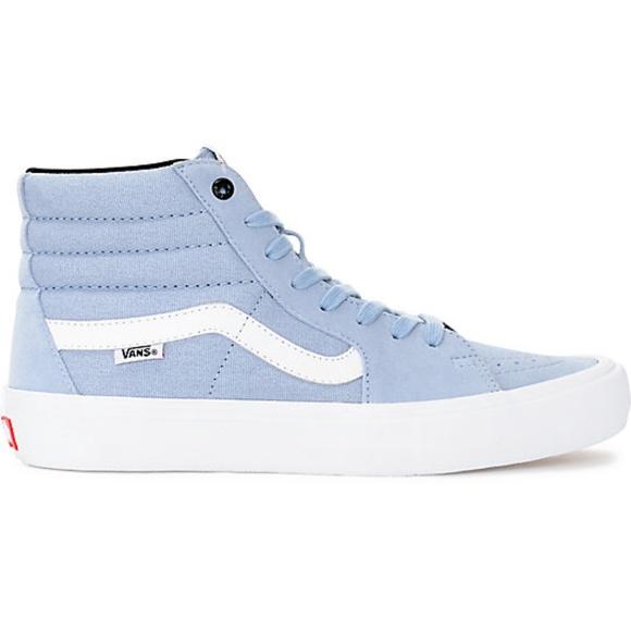 cb0aa8129993c2 Vans Sk8-Hi Pro Blue Fog Skate Shoes Men s Sz 10. M 5bdb46c003087ce514d98a64
